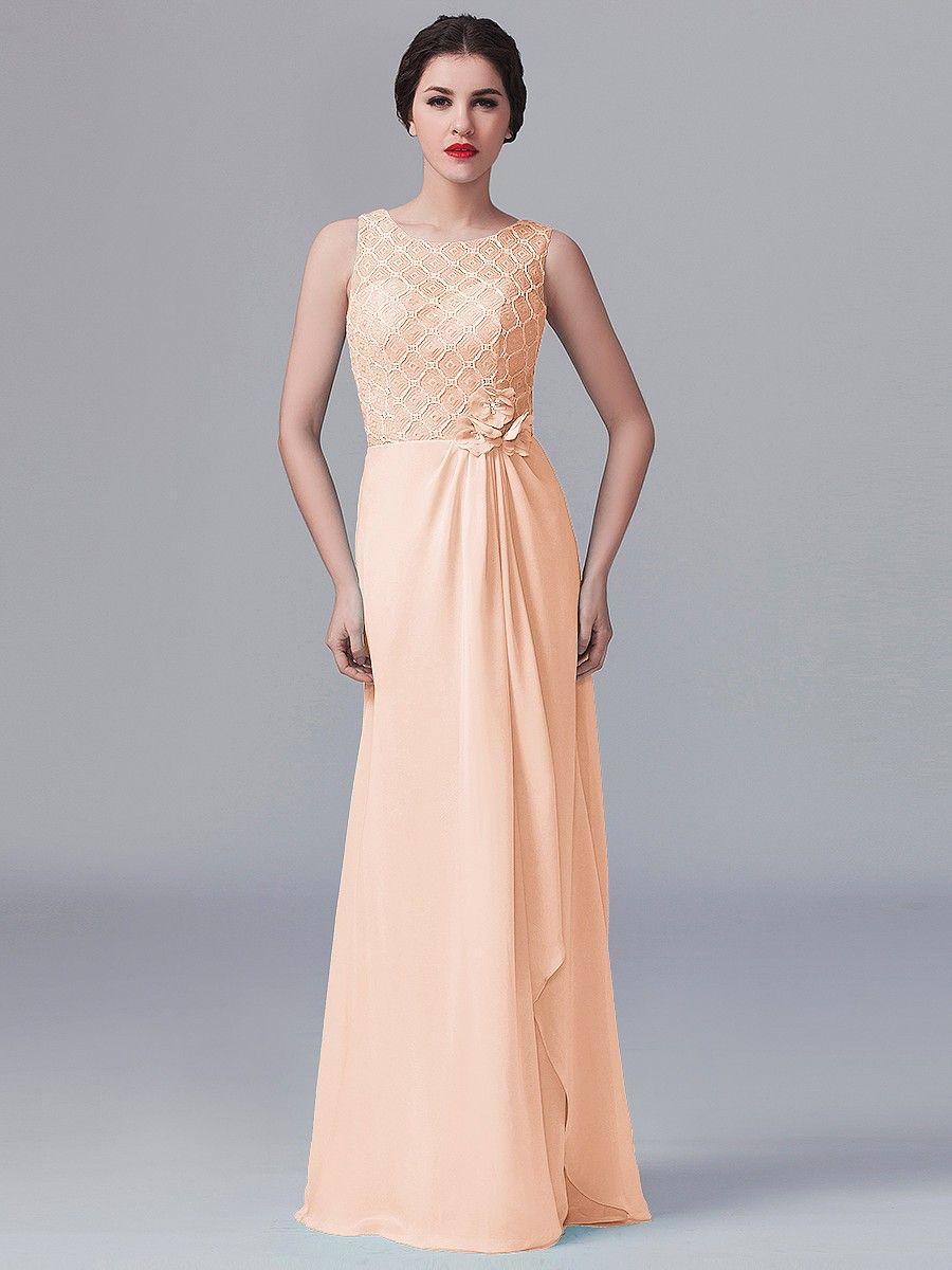 Dress for wedding party female  Lace and Chiffon Dress  me  Pinterest  Chiffon dress Petite