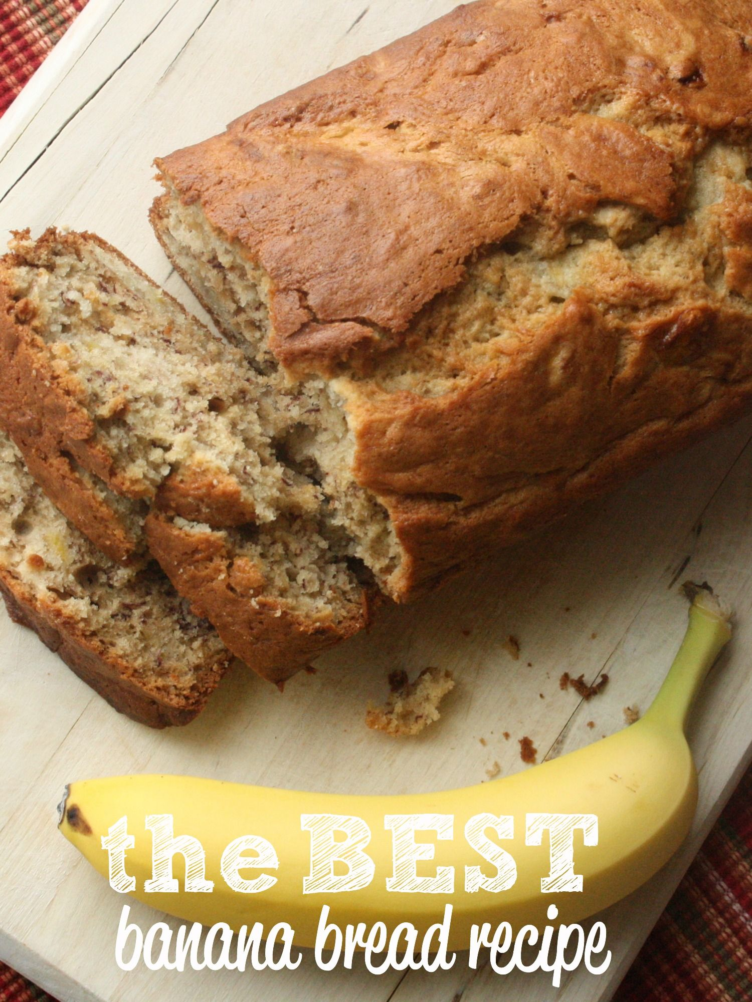 This banana bread recipe, moist, easy and fantastic - I tell you, those are the only ways I have to describe it - please add this one to your recipe books. You won't regret it, it's the BEST! I mean how else can I eat an entire loaf myself in less than 2 days??! Also, this recipe makes two loaves - it's awesome!