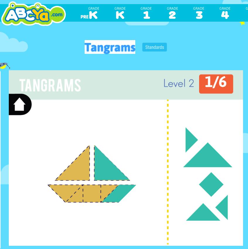 tangrams  tangram puzzles for kids tangram puzzles