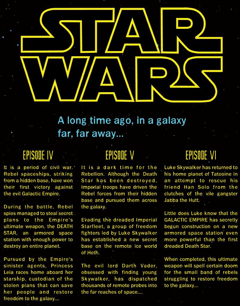 Star Wars Opening Crawl | Jacob Todd Ingram's Cloud³ | Star wars