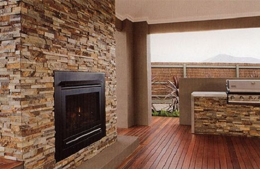 Natural Stone Interior Decorating Ideas