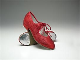 ruby slippers \u003d red glitter tap shoes