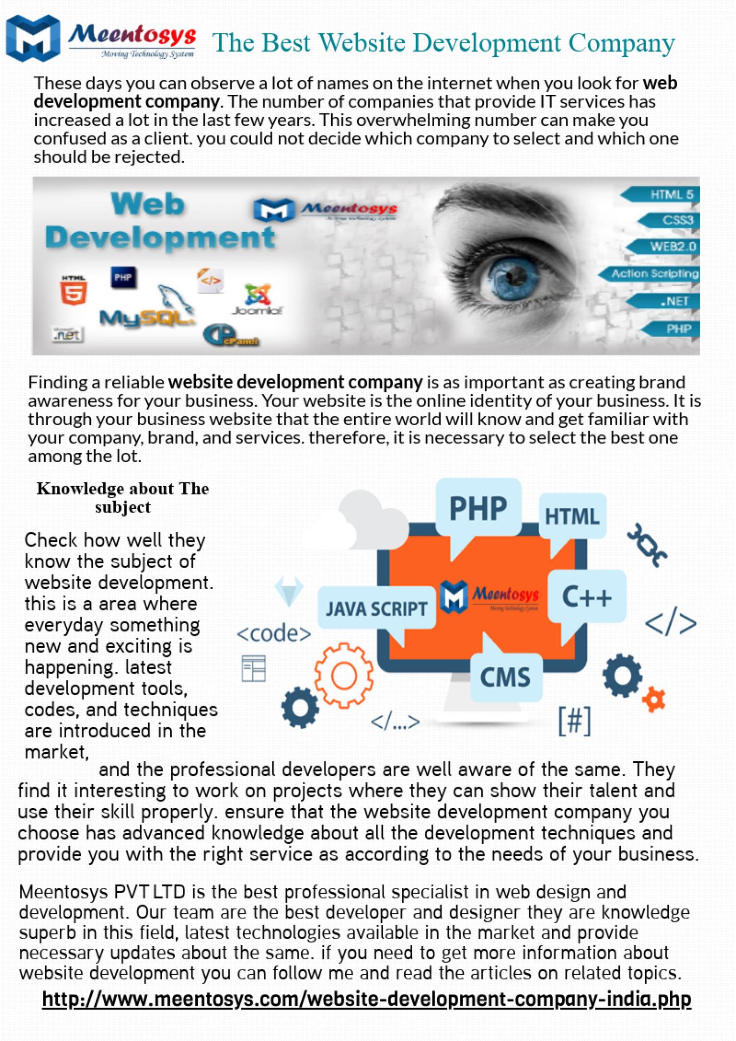 Top Best Website Development Company In Delhi Infographic Website Development Company Website Development Development