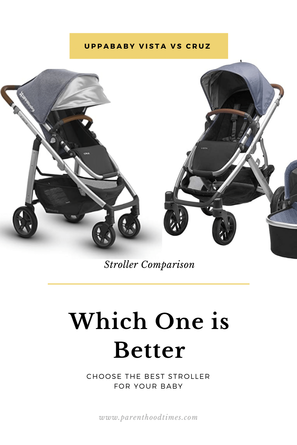 UPPAbaby Vista vs Cruz Comparison 2020 Which One is