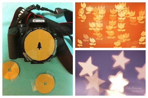 5 DIY Bokeh Filters | Crafts, Artistic images, Art projects