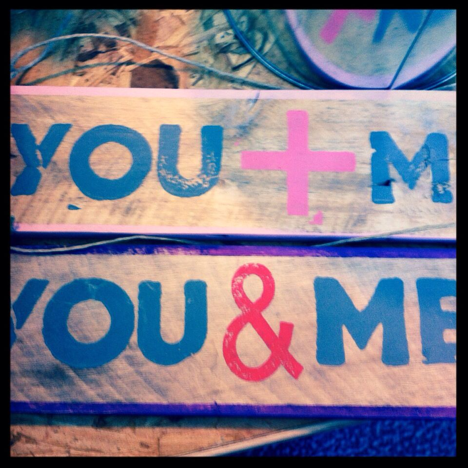 You & Me = 1 #spring #love
