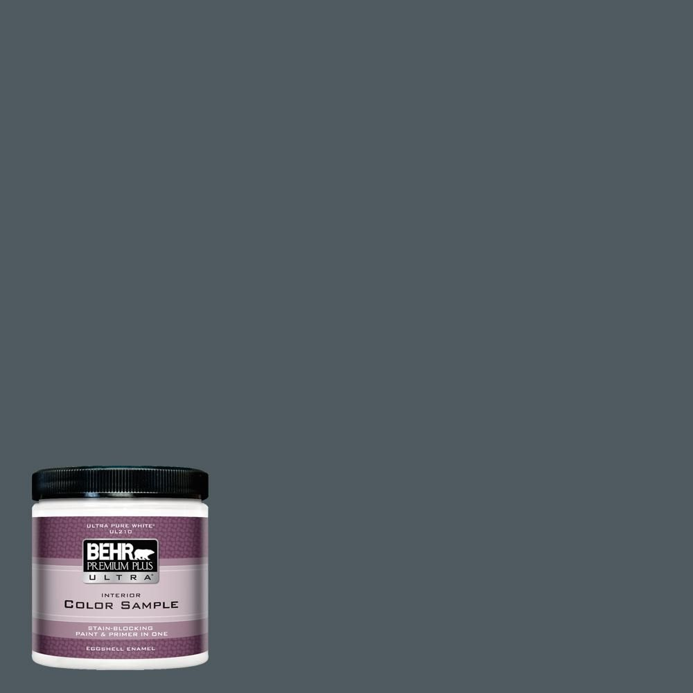 Behr Ultra 8 Oz Ppu25 21 City Rain Eggshell Enamel Interior Paint And Primer In One Sample Ul21316 The Home Depot Behr Premium Plus Ultra Exterior Paint Paint Samples