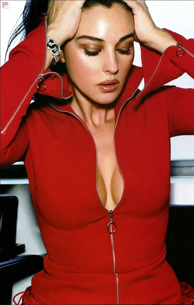 Always The Best Monica Bellucci Red