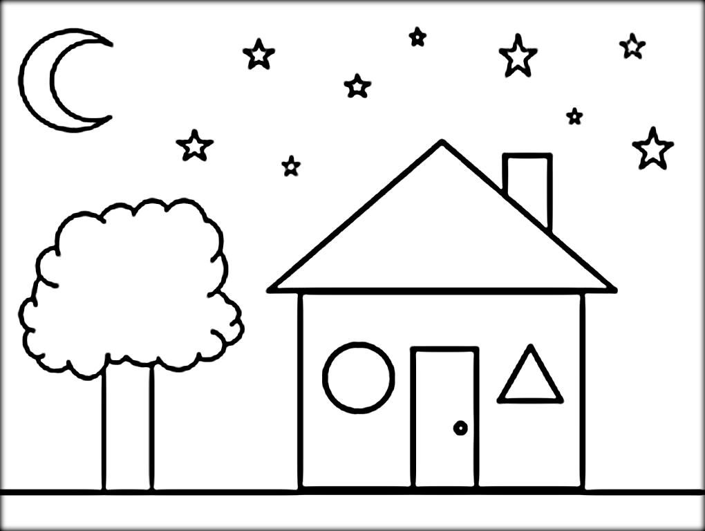 Shapes Coloring Sheet Shape Coloring Pages Printable Coloring
