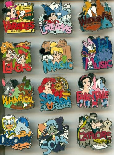 hidden mickey full collections | ... PIN DLR - Hotel Hidden Mickey Dreams Collection complete 12 pin set