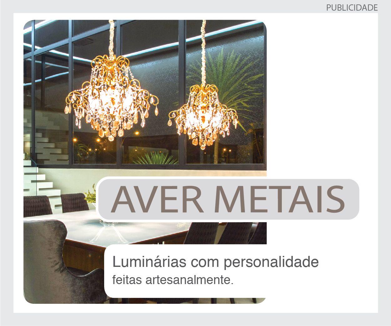 AVER METAIS -luminárias personalizadas feitas sob medida
