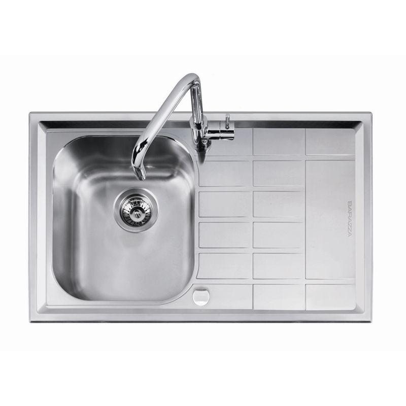 Sink Level Abey Sgl Rhb&drainer Lev100r I/N 5090140