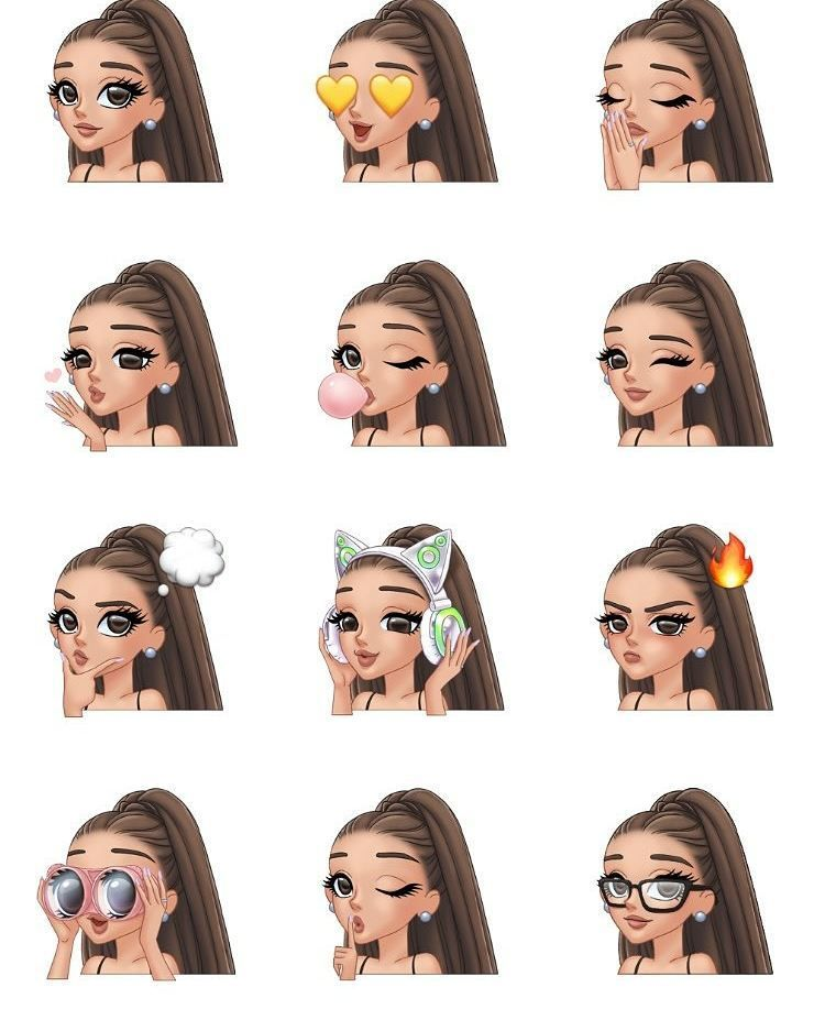 Ariana Grande Christmas Wallpaper: Arimoji Idk Anymore T Ariana Grande Wallpaper And