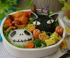 bento box, cute japanese, cutie, eat!, food, halloween - inspiring picture on Favim.com