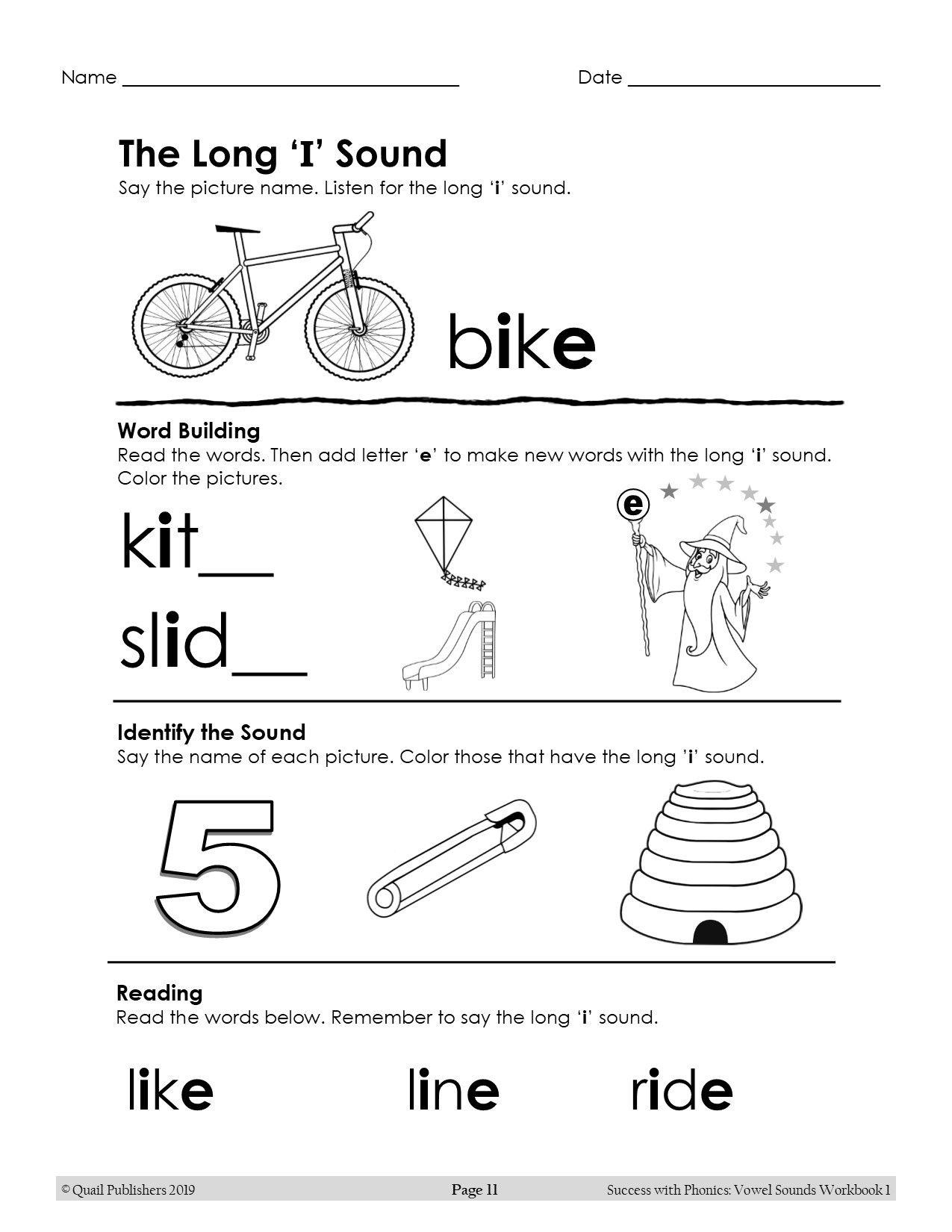 Vowel Sounds Split Digraphs Magic E