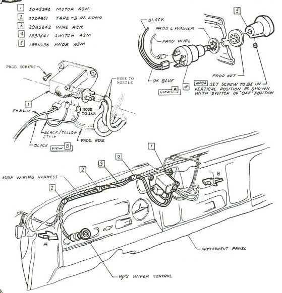 57 Chevy Wiper Wiring | Wiring Diagram on