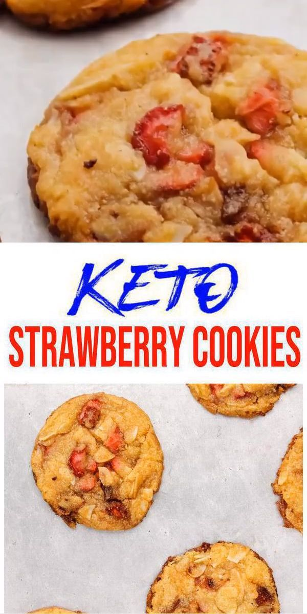 BEST Keto Cookies! Low Carb Keto Strawberry Cookie Idea – Quick & Easy Ketogenic Diet Recipe ... BEST Keto Cookies! Low Carb Keto Strawberry Cookie Idea – Quick & Easy Ketogenic Diet Recipe – Completely Keto Friendly,