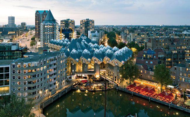 Superkubus Exodus by Personal Architecture in Rotterdam