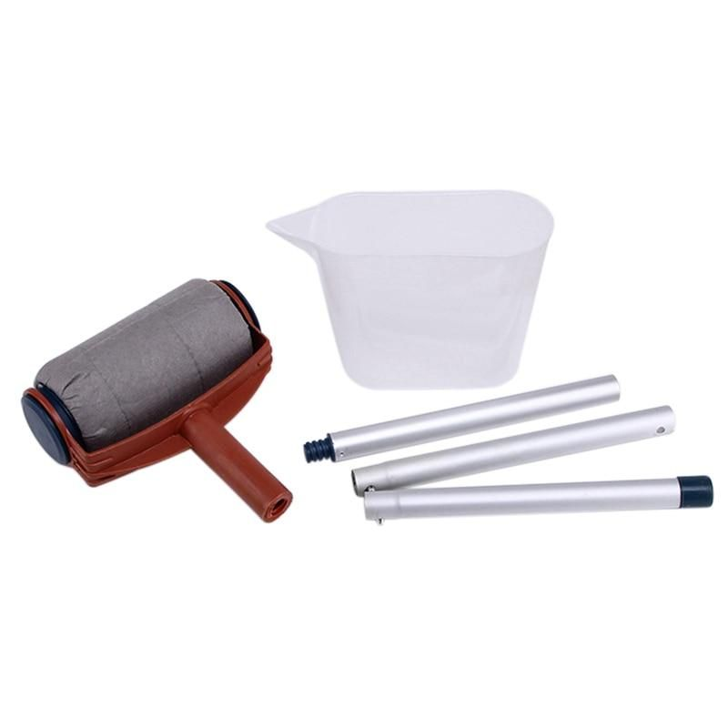 Set Diy Wall Paint Roller Brush Tools Pro In 2020 Diy Wall Painting Paint Runner Easy Paintings