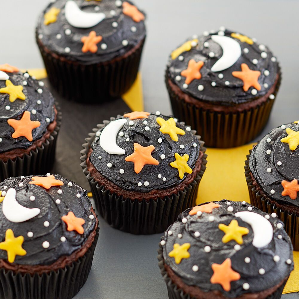Sweet Dreams Are Made Of These Topped With Candy Stars And Moons