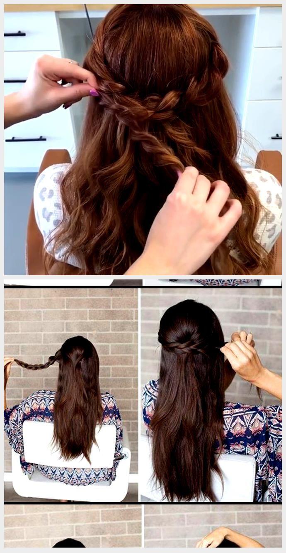 Photo of Enkel flettet frisyre: supersøt frisyre for å fullføre utseendet ditt …