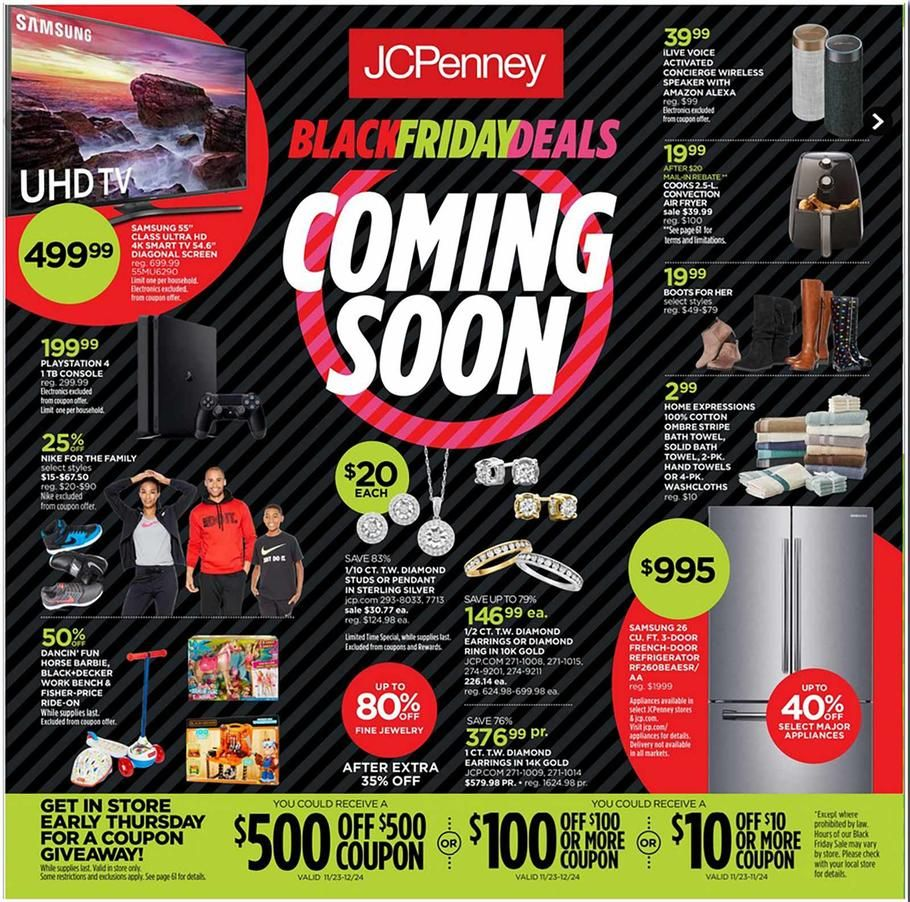 Jcpenney Black Friday Ad 2017 Black Friday 2017 Ads Black Friday Ads Black Friday Shopping