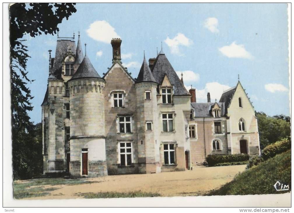 Saint Epain chateau - Delcampe.net