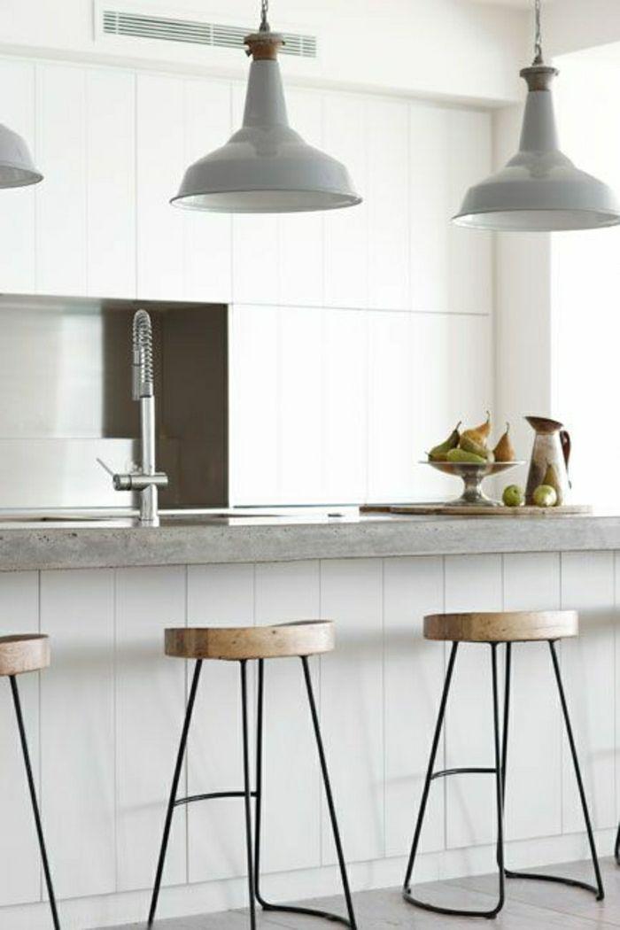 Comment adopter le tabouret de bar dans l\u0027intérieur moderne? Interiors - meuble en fer design