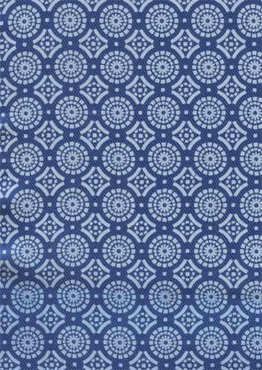 Panopticon patterned pocket square