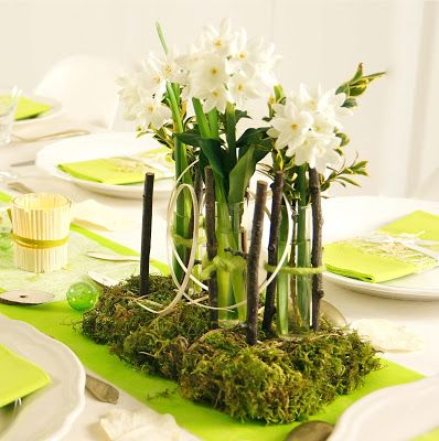 ma boutique d co table d coration de table printemps f te table decorations table et. Black Bedroom Furniture Sets. Home Design Ideas