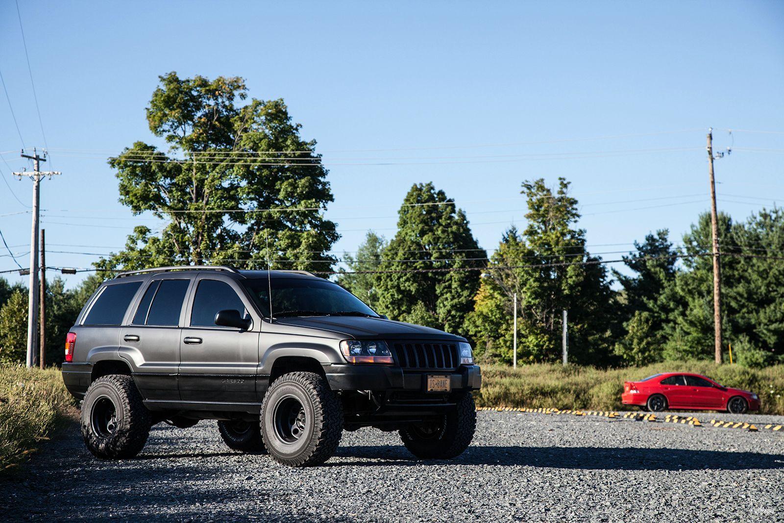 Matte Black 2004 Wj Jeep Full Dip Transformation Jeep Wj Jeep