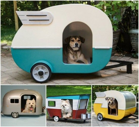 Mini Dog Caravan Kennel Cutest Ideas Cool Dog Houses Dog Houses