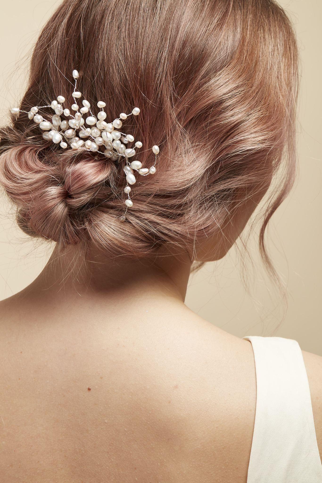 Pearl hair comb Wedding hair accessories bridal hair accessories