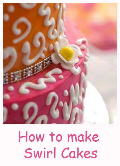 Bollywood! How to make Swirl Cakes