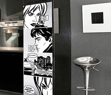 Stickers Para Frigorífico B Dessinee Leroy Merlin Vinilos Decoracion Con Vinilos Vinilos Nevera