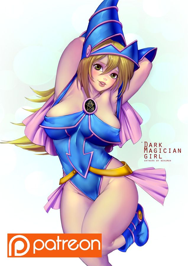 Captor dark magician girl in bikini