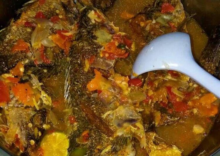 Resep Pecak Ikan Mujair Oleh Neng Addah Resep Resep Seafood Resep Masakan Indonesia Makanan Pedas