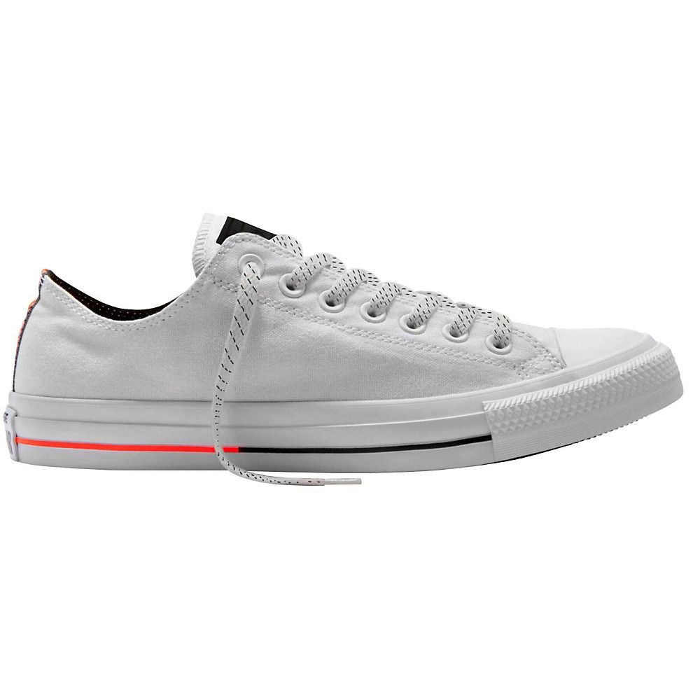 Chuck Taylor All Star Mono Canvas Low Top in White Monochrome