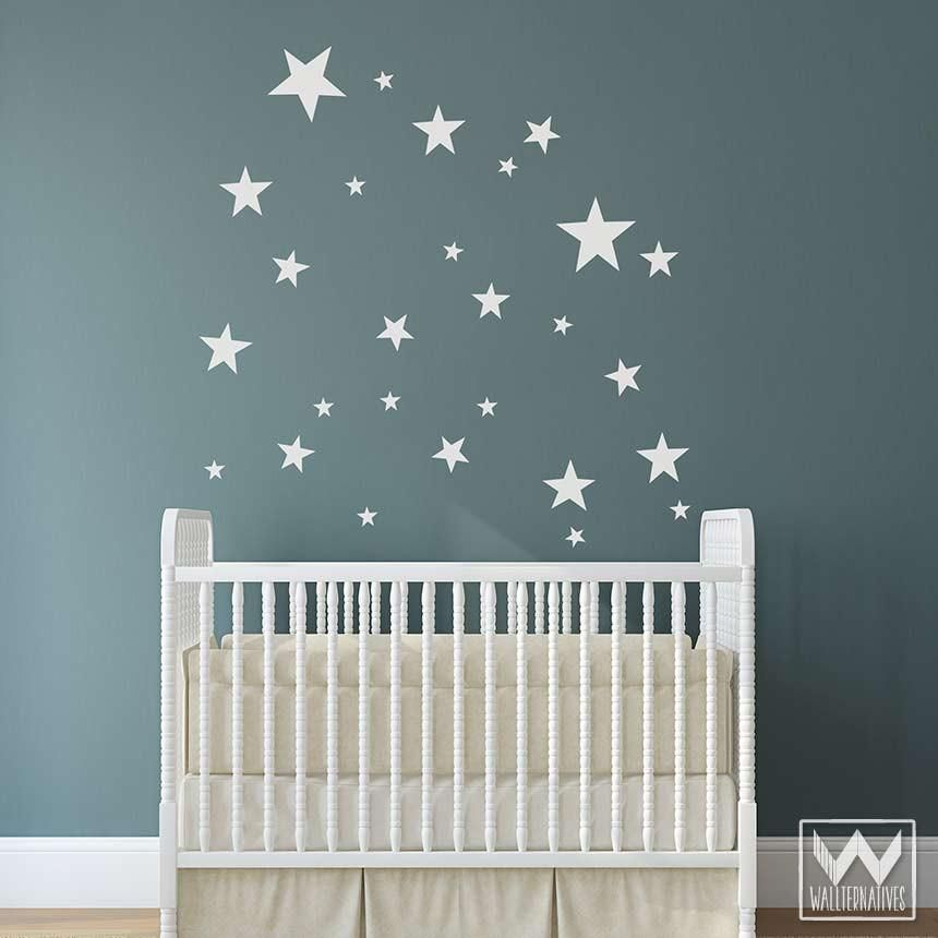 falling stars vinyl pattern pack minis: 30 shapes | from the windows