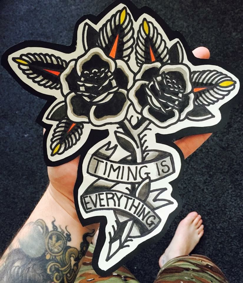 God's timing is everything** Life Tattoos, New Tattoos, Body Art Tattoos,