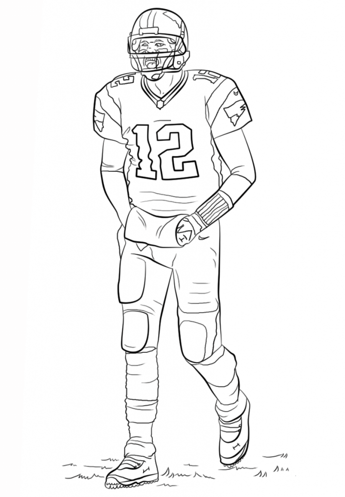 Free Printable Football Coloring Pages For Kids Best Coloring Pages For Kids Football Coloring Pages Sports Coloring Pages Coloring Pages To Print