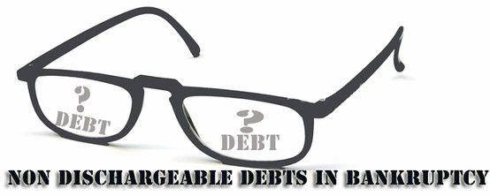 #MilwaukeeBankruptcyAttorney Nondischargeable debts