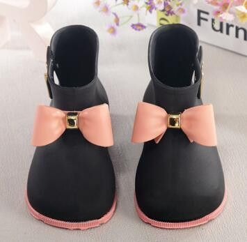 76a3907c352c Children Boots Mini Melissa Rhino Girls Rainboots Duck Jelly Shoes Boys  Rain Boots Short Water Shoes Children Boots