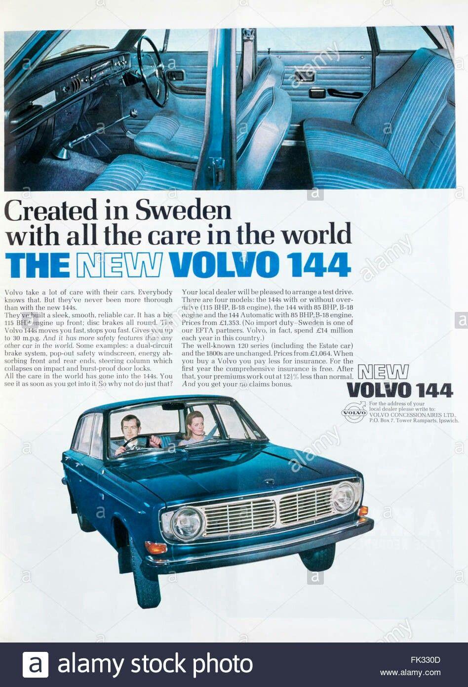Volvo 144 Publ Volvo Volvo Cars Volvo Ad