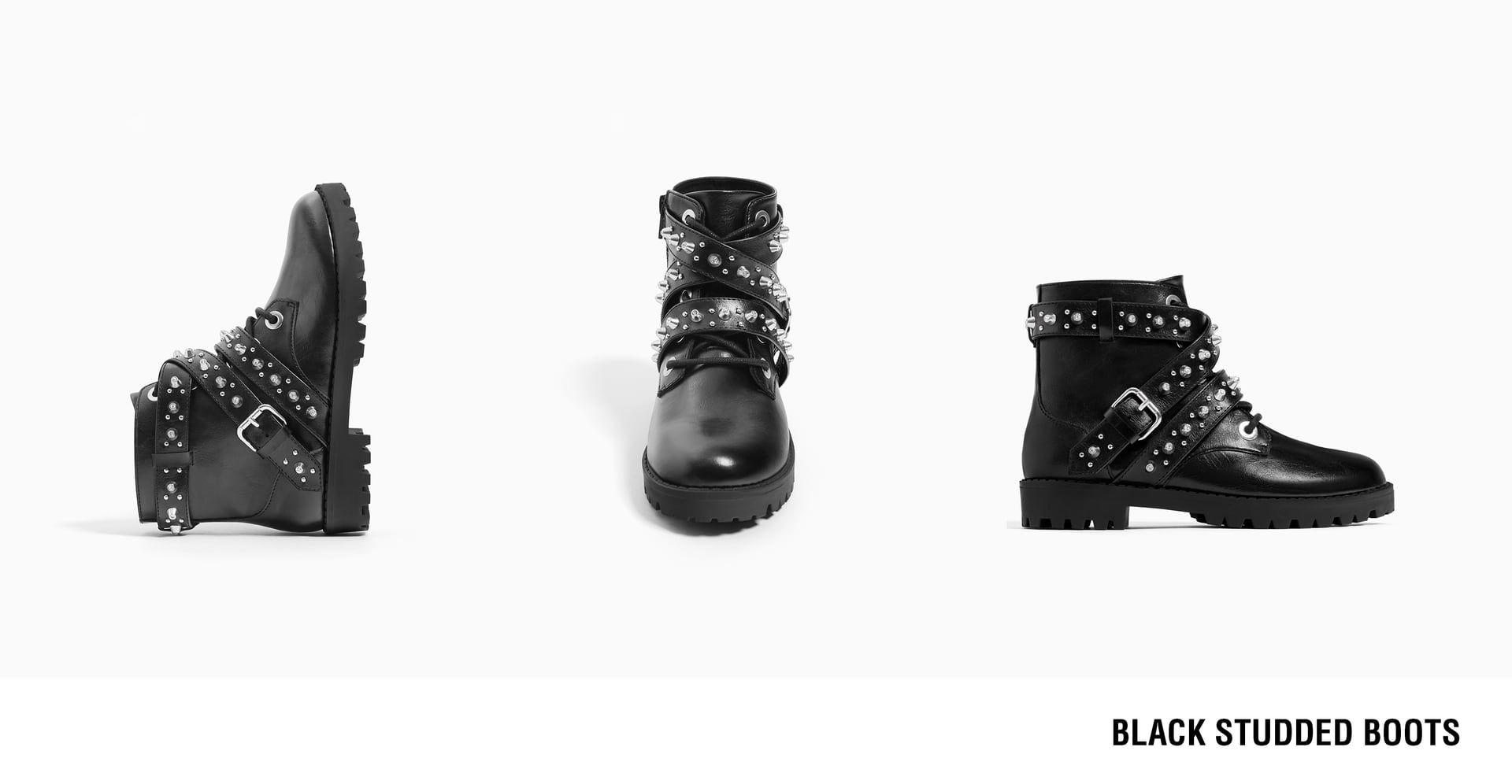 Zimbali Bilekte Bot Zara Ayakkabilar Moda