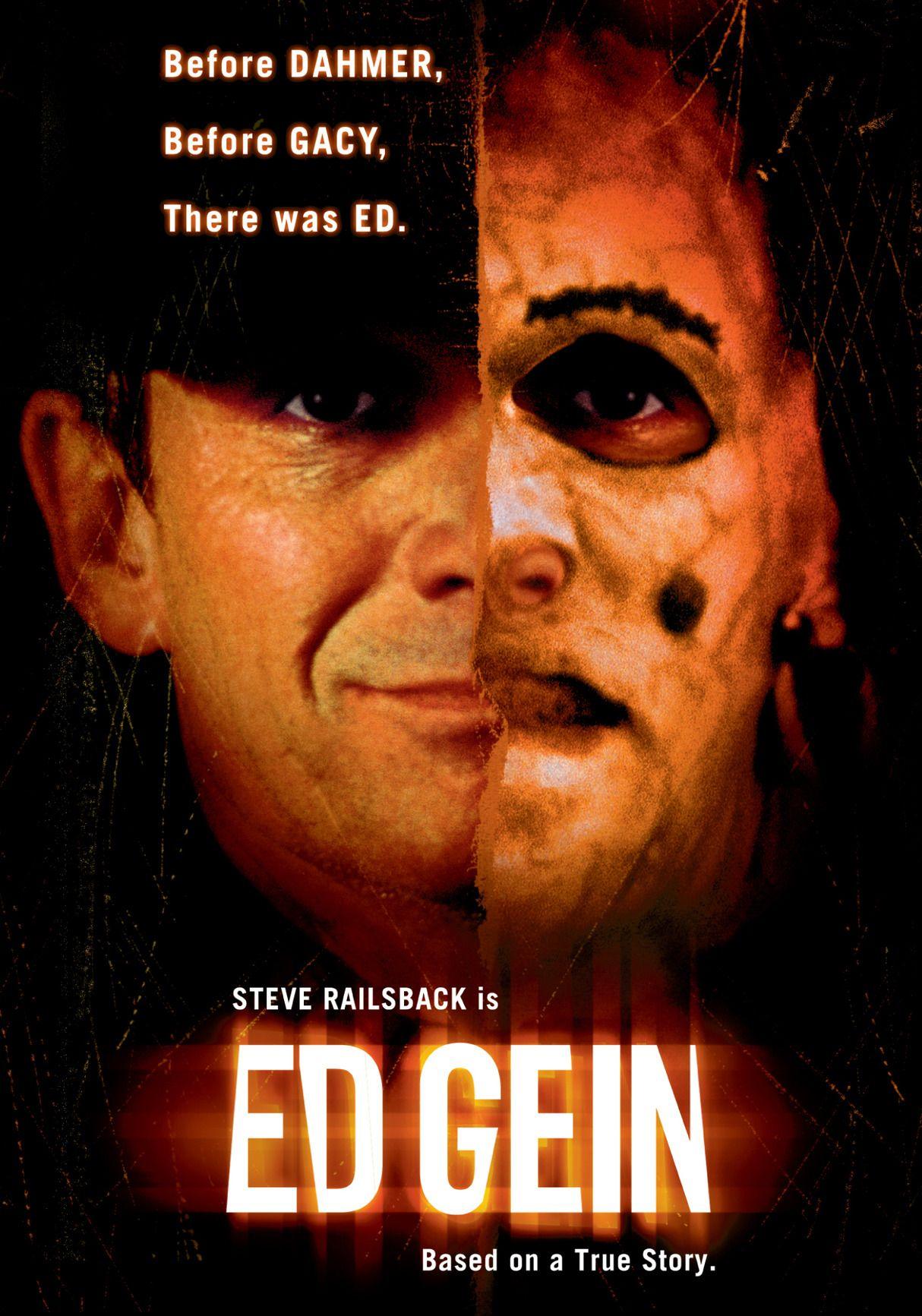Ed Gein 2000 Movie Review Horror Movie Posters Documentaries Serial Killers
