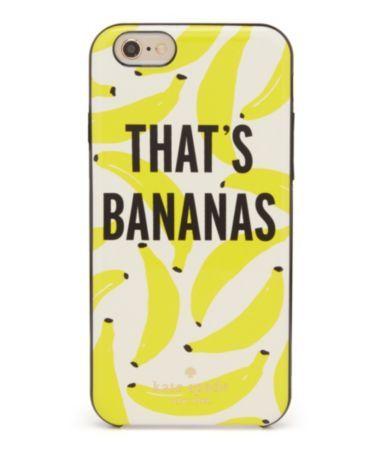 Kate Spade New York Des Thats Bananes Iphone 6 Cas En Jaune Vendable Vente En Ligne Forfait De Compte À Rebours De Réduction sam. y9lZh