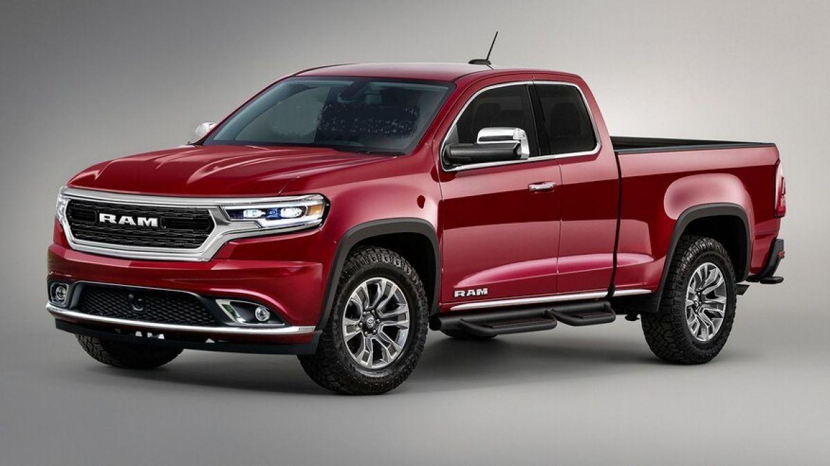 2022 ram dakota rumors rendering photos pickup trucks