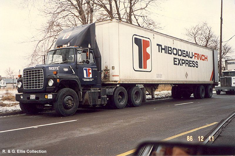 Thibodeau Finch Express, bought out by Glengarry Truck