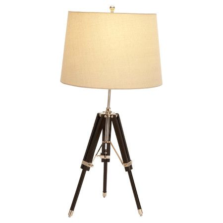 Tripod Style Wood Table Lamp Product Table Lampconstruction